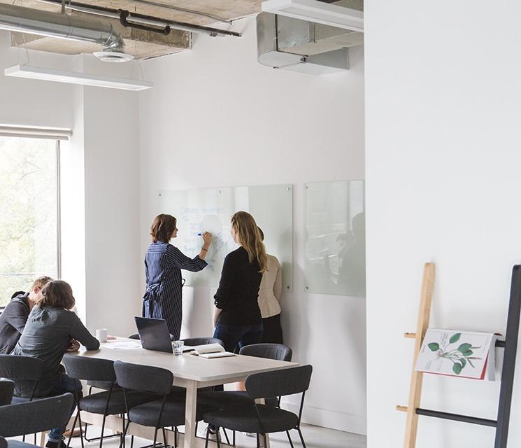Brainstorming, réunion d'équipe