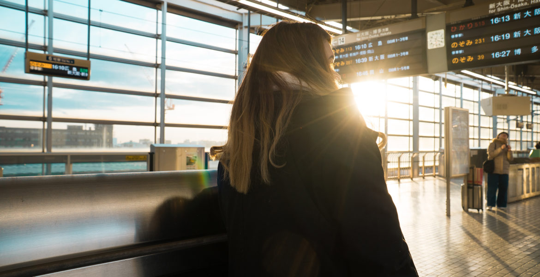 Voyage dans un aéroport